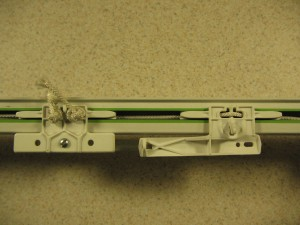 Center Draw Traverse Rod
